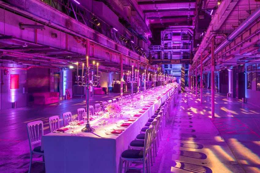Printworks London christmas party