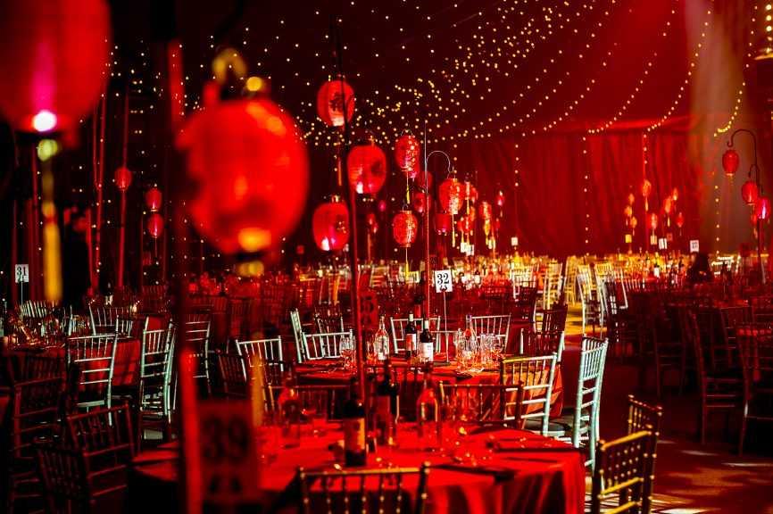 Bloomsbury Bigtop Cirque Shanghai Christmas Party