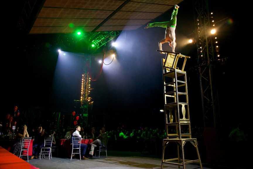 Bloomsbury Bigtop Cirque Shanghai Christmas Party2