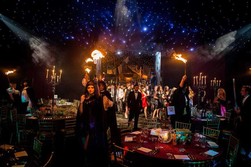 dickensian finsbury square christmas party