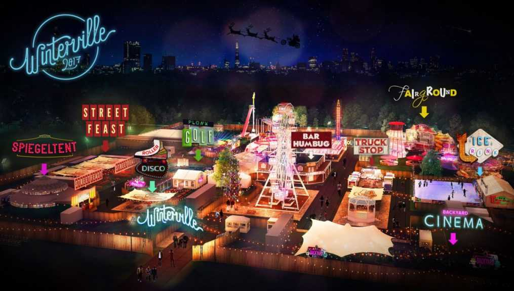 Winterville - Christmas Party | Christmas Events London